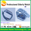 1.6 inch Translucent Screen MTK Smart Elderly Health Watch With Heart Rate Monitor Pedometer 3D Sensor Big APP Icon