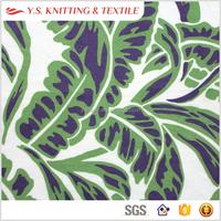 Weed floral printed fabric