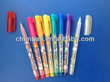 High quality classic design F-518 glitter in pen with fruity