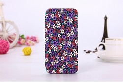 Flower Style PU Leather Book case in girl's style for Iphone 6