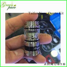 Hot selling taifun quartz nano kit, taifun gt nano, taifun nano base cheapest price paypal acceptable