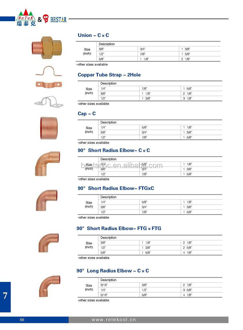 90 Long Radius Elbow-c*c Copper Tube Pipe Fitting - Buy ...