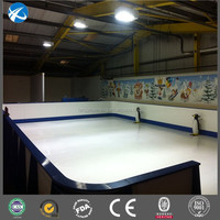 Factory price hdpe plastic ice rink boards