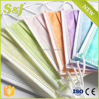 3 Ply PP Disposable Dental Surgical Earloop Face Mask