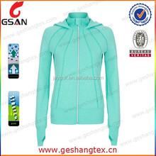 nylon spandex sport coat woman