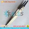 ESD coating tweezers bend tip