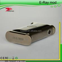 Haopad High quality!!! mechanical mod E-ray box mod 1:1 original clone in stock now