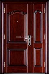 exterior entry commercial double american steel door