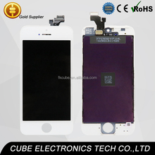 CUBE enough stock ! touch glass digitizer screen for iphone 5 lcd display assembly for iphone 5G/5s/5c