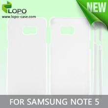 wholesale sublimation 3d polymer case for Samsung Note 5 Edge from LOPO