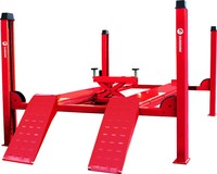 Japan market 4 Post for alignment car lift with CE