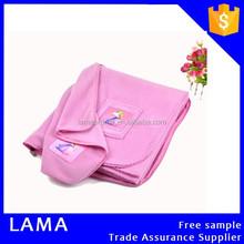 Promotion Flame Resistant Printed Polar Fleece Airplane Blanket