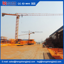 China supplier flat top jib tower cranes price for sale