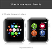 wearable gadgets MTK2502C smart watch