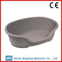 Indoor high quatity injection plastic pet bed wholesale