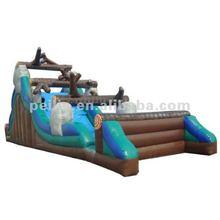 fantastic inflatable trees slide