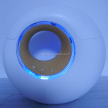Convenient touch button design advanced ultrasonic technology safe care aromatherapy with night lamp and music speaker