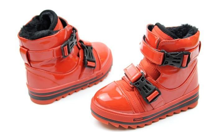 Ботинки для мальчиков & 643 Искусственная кожа