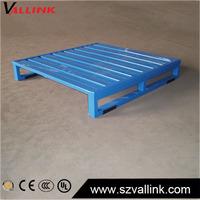 Wholesale Warehouse storage heavy duty stacking blue Euro Steel half pallet