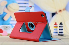 Luxury design universal leather case for ipad mini, wallet leather case cover HH-IPM05-24