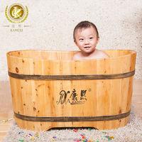 Kid's wooden shower tub cedar bathtub kids bath tubs