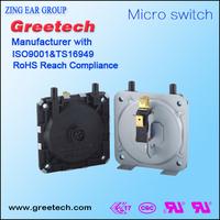 HVAC, Boiler air compressor pressure switch