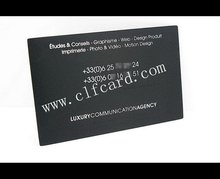 Top level new design black american express metal cards