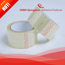 Transparent BOPP adhesive packing tape for sealing box high viscosity super clear