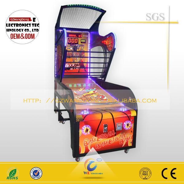 the gun basketball shooting machine