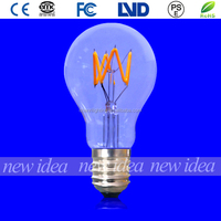 china factory A19/A60 3W led lighting bulbs