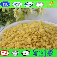 oganic white & yellow A grade beeswax granula with high qulity