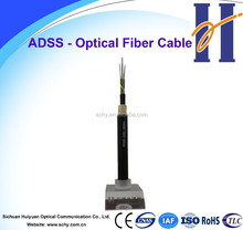 Power electric cable -ADSS all dielectric non-metallic 48 core fiber optical cable