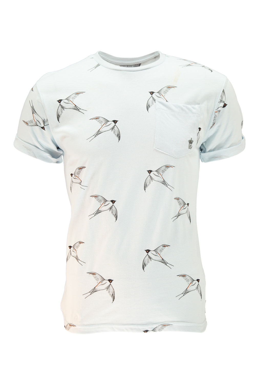 Men S Bird Print Shirt