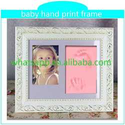 Baby Hand Print Clay Frame newborn handprint new