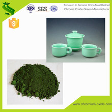 Ceramic pigment powder enamel pigment powder chromium oxide green inorganic pigment grade China supplier