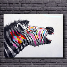 2015 newest popular products abstract animal painting for wall decor