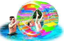 funny/large Water Wheel - Giant Inflatable Swimming Pool Water Wheel Toy for kids