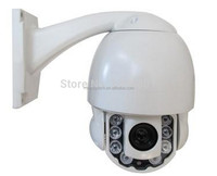 4inch Mini IP PTZ Camera 10x optical Zoom speed dome 1920*1080P@30fps Resolution