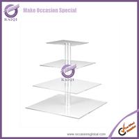 Large Wedding/Christmas Porcelain Ceramic Glass Cake Serve Plate for Cake Stand Display Holder