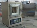 Laboratorio atmósfera mufla del horno 1200C para sinterización