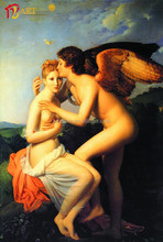 Wall art vintage famous nude painting angels