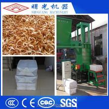 Hydraulic pressure rice husk compress baler machine