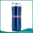 azul elegante bluetooth açoinoxidável música copo vazio