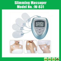 8 Modes Electronic Pulse Release Body Stimulator Digital Therapy Massager