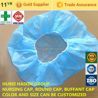 disposable environmental cap products, pp round cap products