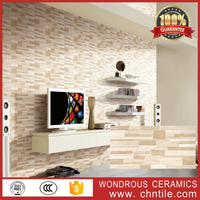 China manufacturers 30x60cm brick exterior ceramic wall tiles, lobby decorative stone wall wall tiles for living room