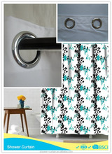 polyester Fabric bath shower windows curtain