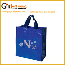 Promotional Large Custom Printing Laminated Non Woven Tote Shopping Bag