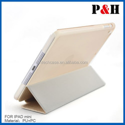 high quality new arrival universal leather case for Ipad mini cover with factory price
