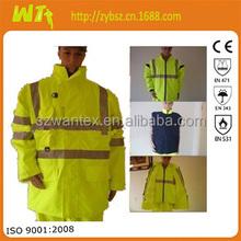 Anti-static Waterproof work uniform, safety work clothing, reflective workwear